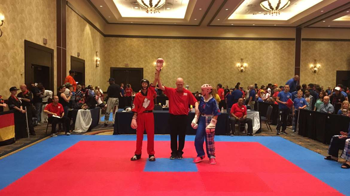 Kenzie – Sparring Competition WKC World Championships 2017.